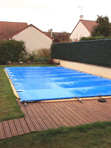 comment hiverner une piscine bois bleu creations. Black Bedroom Furniture Sets. Home Design Ideas