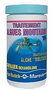 Alerte aux algues moutarde bois bleu creations for Algue moutarde piscine