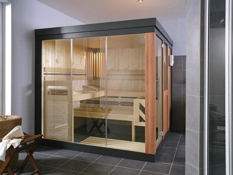 Sauna et hammam bois bleu creations - Hammam exterieur bois ...